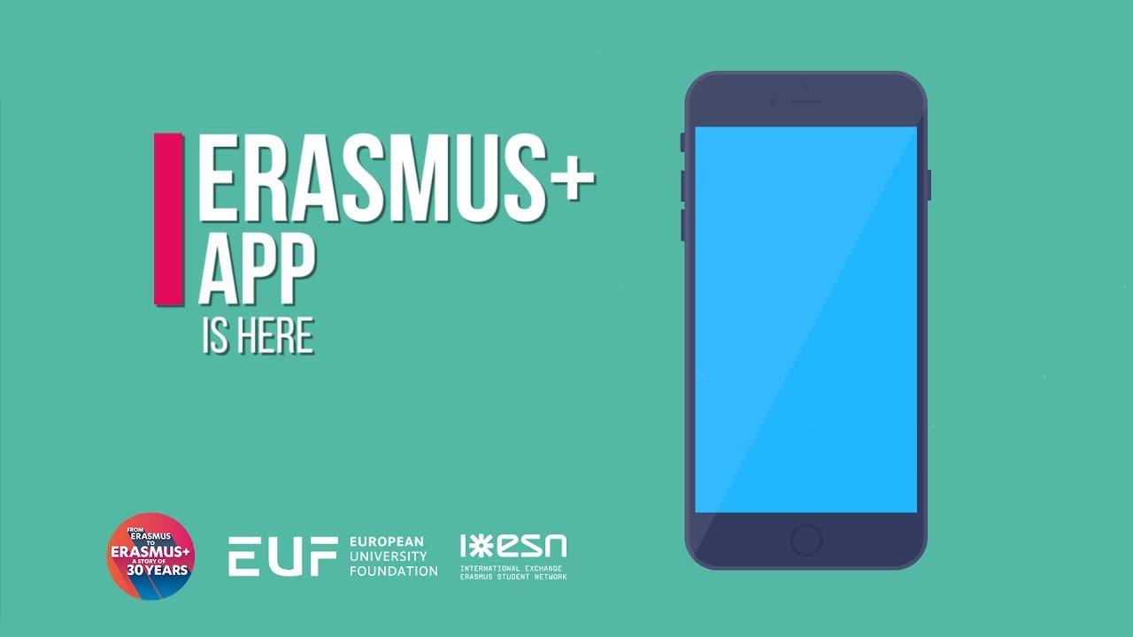 Mobilní aplikace pro EU program Erasmus+ potřebuje změnu