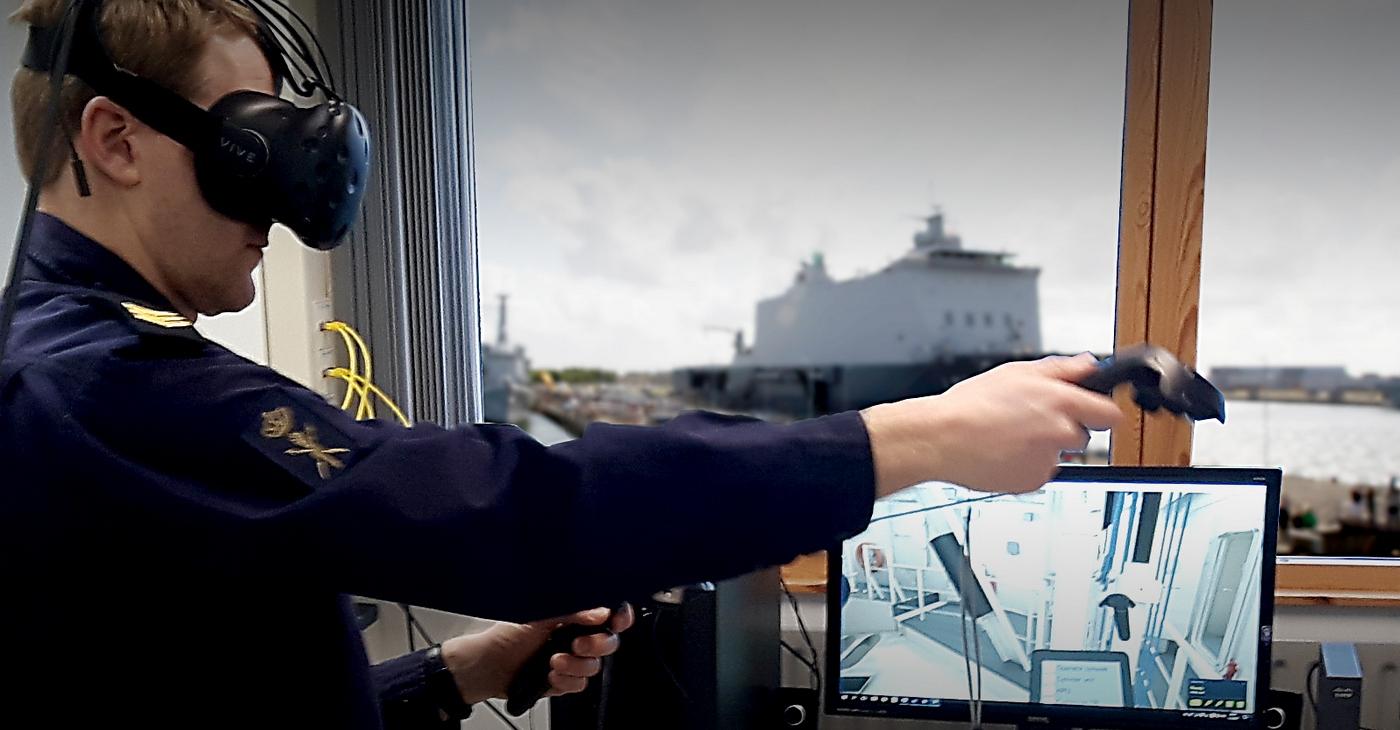 Agentura EU z Lisabonu potřebuje vyvinout VR prostředí pro lodní kontroly