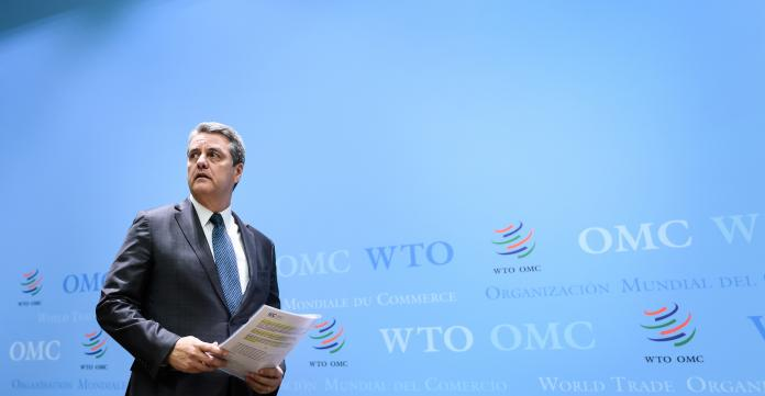 Graphic and event design services for the WTO